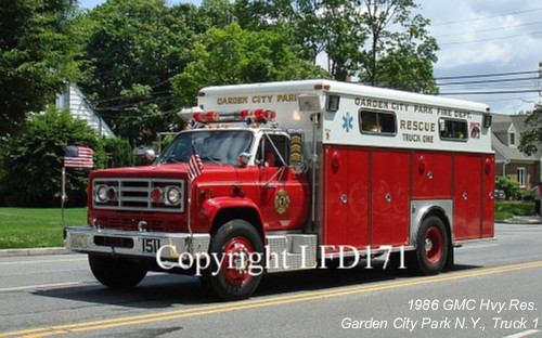 Garden City Park Fire Department 150 Long Island Fire